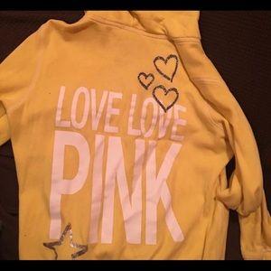 Sweaters - Victoria secret pink hoodie size m